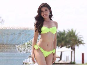 Huyền My diện bikini khoe thân hình nóng bỏng