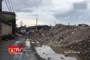 100% làng nghề vượt chuẩn cho phép về ô nhiễm môi trường