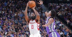 Tỏa sáng ở hiệp cuối, Harden giúp Rockets vượt ải Sacramento Kings