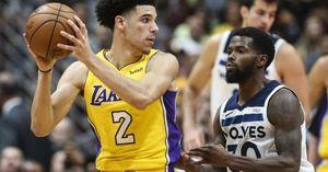 Lonzo Ball lên kế hoạch tái xuất ở trận mở màn của LA Lakers