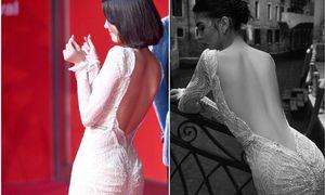 Bất ngờ khi chứng kiến chiếc váy 'thật' đang gây tranh cãi của Yoon Ah