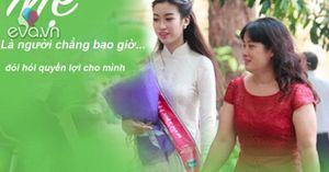 HH Đỗ Mỹ Linh: 'Mẹ hay giúp đỡ người khác nhưng chẳng bao giờ đòi quyền lợi cho mình'
