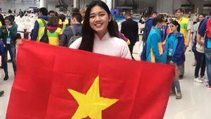 Á hậu Thanh Tú cùng bạn bè quốc tế gửi lời chúc tới Mỹ Linh