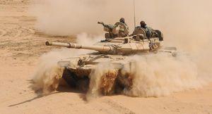 Quân đội Syria tung đòn tấn công IS trên sa mạc Homs