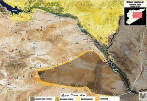 'Hổ Syria' vượt Euphrates đánh chiếm mỏ dầu ở Deir Ezzor, tướng huyền thoại Syria tử trận