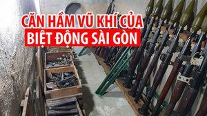 Căn hầm bí mật chứa vũ khí của Biệt động Sài Gòn