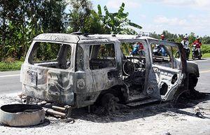 Tình tiết bất ngờ vụ con gái thuê người đốt xe làm cha chết