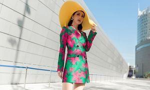 Diễm My 9x kiêu kỳ đánh bật 'rừng' streetstyle tại Seoul Fashion Week