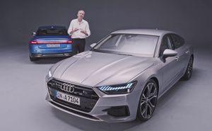 Cận cảnh Audi A7 Sportback 55 TFSI quattro 2018 vừa ra mắt toàn cầu