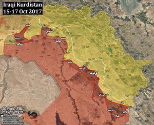 Người Kurd mất hàng loạt địa bàn then chốt vào tay quân đội Iraq