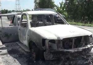 13 ngày phá án vụ con gái thuê giang hồ đốt ôtô chở cha