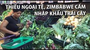 Zimbabwe cấm nhập khẩu rau củ quả vì thiếu ngoại tệ
