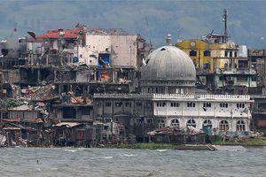 Marawi hoang tàn sau 5 tháng bị phiến quân Hồi giáo vây hãm