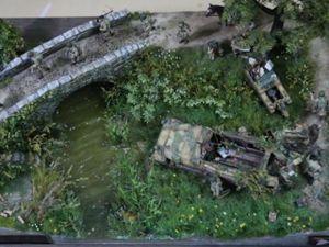Thế chiến thứ 2 tái hiện chân thực qua tay 'phù thủy mô hình' Việt