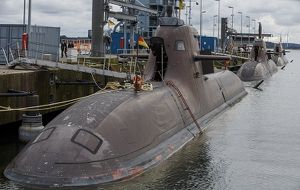 Toàn bộ hạm đội tàu ngầm của hải quân Đức bị tê liệt