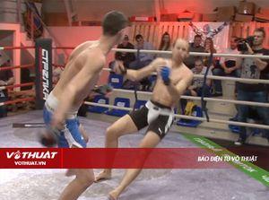 Trận đấu 'cực dị' của hai võ sĩ MMA