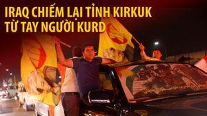 Quân Iraq đẩy lùi lực lượng Peshmerga ra khỏi tỉnh Kirkuk