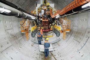 'Độn thổ' xuống đường hầm Metro đầu tiên do 'siêu robot' đào ngay trung tâm TP.HCM