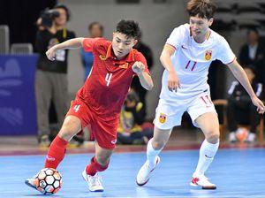 Tuyển futsal Việt Nam đánh bại Trung Quốc 4-3 trên sân khách