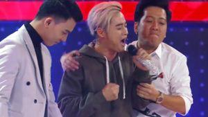 Thanh Duy tự phá bài hát vì bất lực trước giọng hát của 'soái ca'
