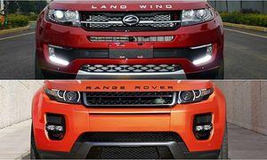 Land Rover lo ngại xe ôtô mới của mình bị 'nhái'