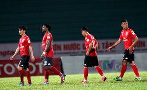 Vòng 22 V-League: Đội chót bảng Long An cầm chân Sài Gòn