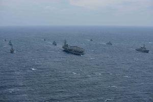 Mỹ dồn binh lực đến gần bán đảo Triều Tiên