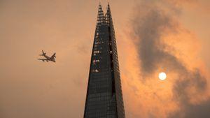 Bầu trời màu cam ở London vào top ảnh tuần