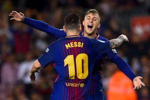 Nhờ bàn thắng ma, Barca cho Real 'hít khói' với cách biệt 8 điểm