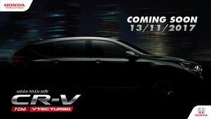 Nóng: Honda chuẩn bị ra mắt mẫu CR-V 2018 7 chỗ thay thế cho mẫu CR-V 5 chỗ?