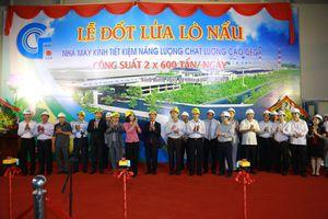 Khởi động đốt lửa lò nấu Nhà máy kính công suất lớn nhất Việt Nam tại Ninh Bình