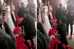 Cô dâu từ chối kết hôn với chú rể đúng vào phút chót