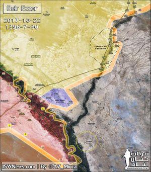 Syria hứng cú sốc: Mỏ dầu Omar rơi vào tay người Kurd