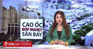 Cao ốc bóp nghẹt đường vào sân bay Tân Sơn Nhất