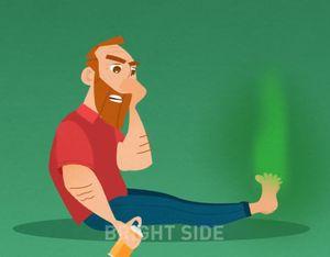 Cách loại bỏ mùi mồ hôi chân dễ dàng