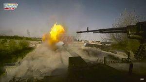 Toàn cảnh quân đội Syria tấn công đánh chiếm sào huyệt IS ở Al-Mayadeen (video)
