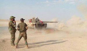 Quân đội Syria nghiền nát IS trong thị trấn Khasham, Deir Ezzor (video)