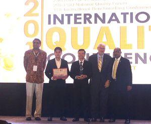 Tôn Đông Á giành Giải thưởng Chất lượng Châu Á