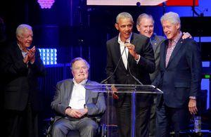 5 cựu Tổng thống Mỹ hội ngộ gây quỹ trợ giúp nạn nhân bão lũ