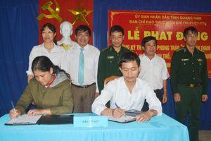 Ký kết thực hiện phong trào toàn dân bảo vệ chủ quyền lãnh thổ, ANBG quốc gia