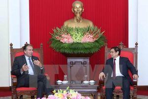 Thúc đẩy quan hệ hợp tác giữa Việt Nam và Argentina
