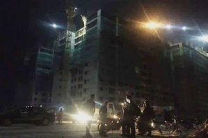 Dự án Thanh Hà của Mường Thanh: Sập giàn giáo, 3 người bị thương