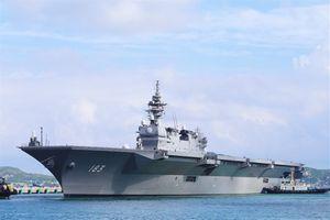 Tính toán của Nhật khi đưa tàu sân bay tới Biển Đông