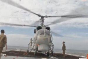Bất ngờ hangar trực thăng của chiến hạm Gepard VN