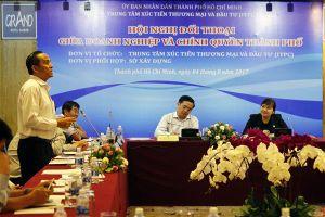 Chính quyền TP.HCM tháo gỡ vướng mắc cho DN xây dựng, bất động sản