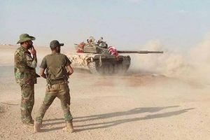 Quân đội Syria truy kích phiến quân IS từ thị trấn Sukhnah