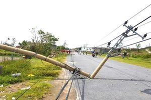 Chùm ảnh: Xót xa hệ thống điện tại Quảng Bình