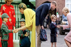 Kinh ngạc khoảnh khắc giống nhau của cha con Hoàng tử William