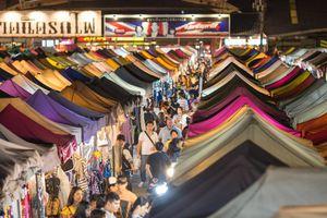 Những chợ đêm độc đáo ở Thái Lan