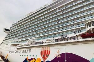 Tàu biển cao cấp World Dream cập cảng Tân Cảng – Cái Mép